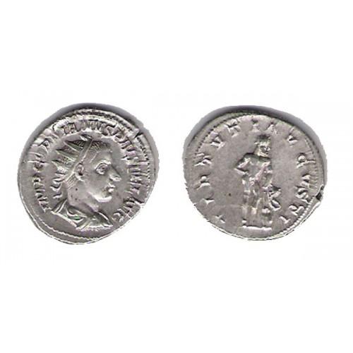 GORDIANO III, ANTONINIANO PLATA, VIRTUTI AUGUSTI, EXCELENTE