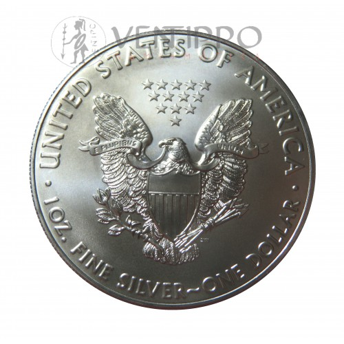 Estados Unidos, Dollar plata ( 1 OZ. 999 mls. )