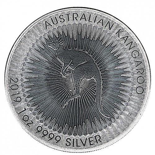 Australia, 1 $ Plata ( 1 oz. 999 mls. ) Canguro Perth 2019