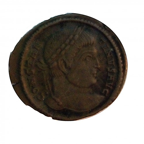 Constantino Magno, Follis AE -19, Sarmatia de Victa MBC+
