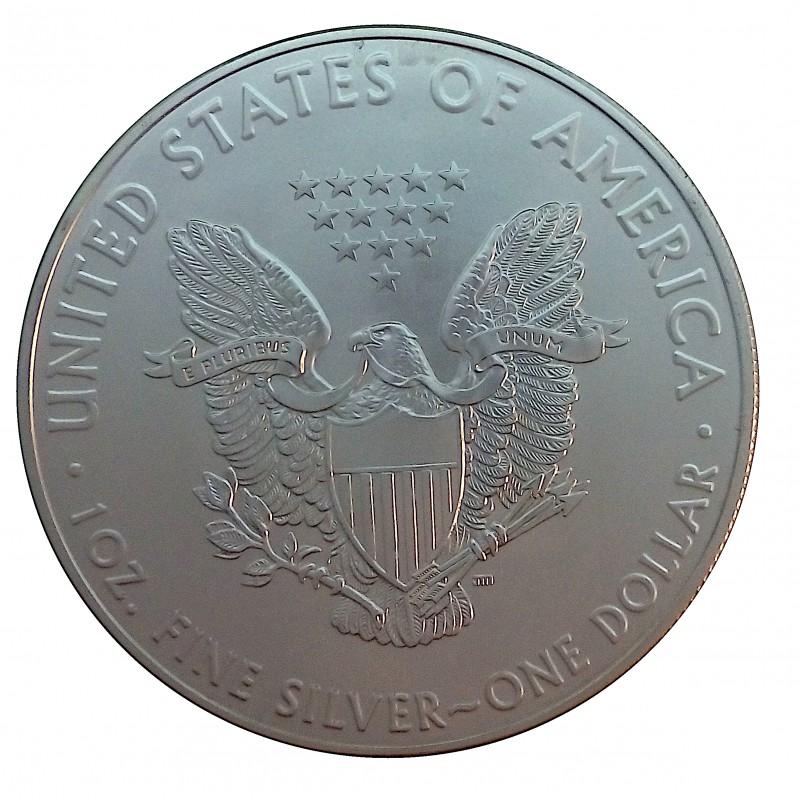 Estados Unidos, one Dollar Plata ( 1 OZ. 999 mls. ) Eage 2019, S/C