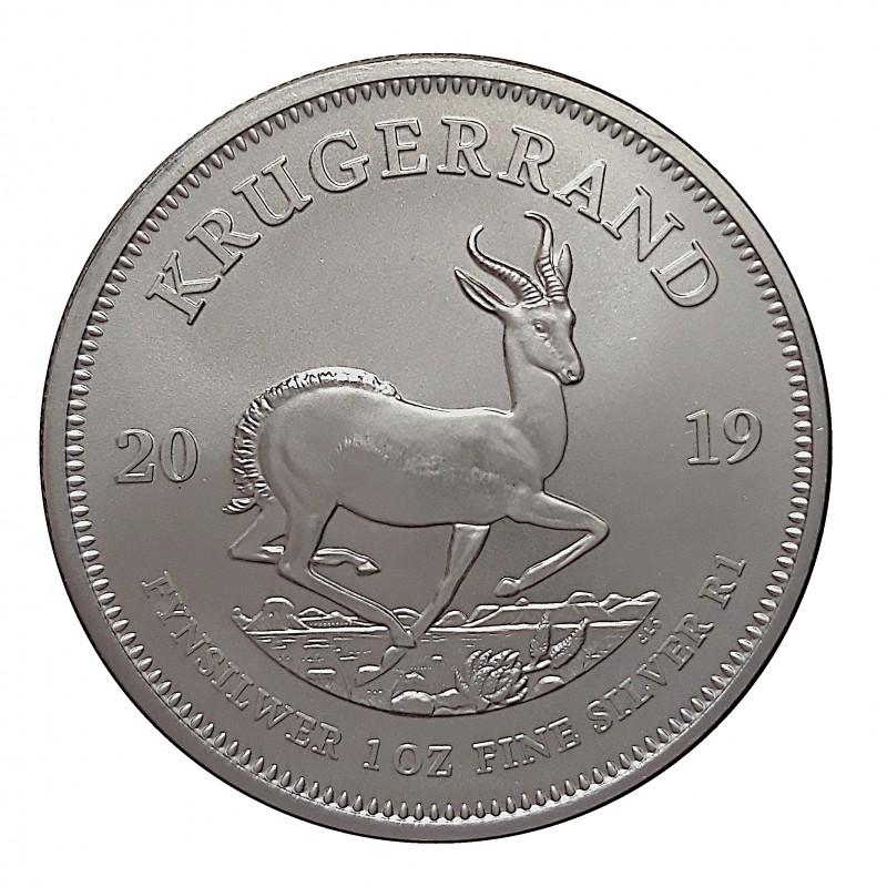 Sudáfrica, Kruguerrand plata (1 OZ. 999 mls) 2018 S/C