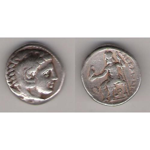 Macedonia, Tetradracma plata, Alejandro Magno, ceca incierta.