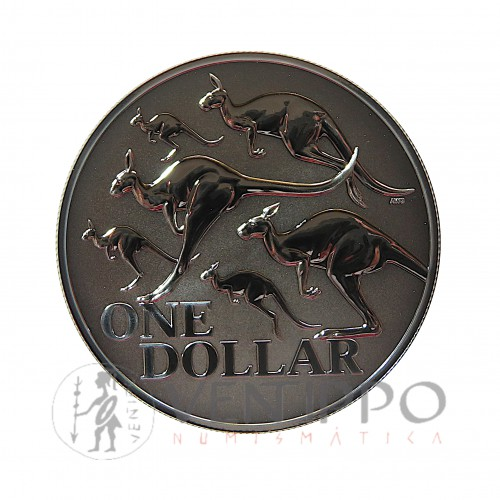 Australia, Dollar Plata ( 1 OZ. 999 mls. ) Canguro Ram 2020, BU.