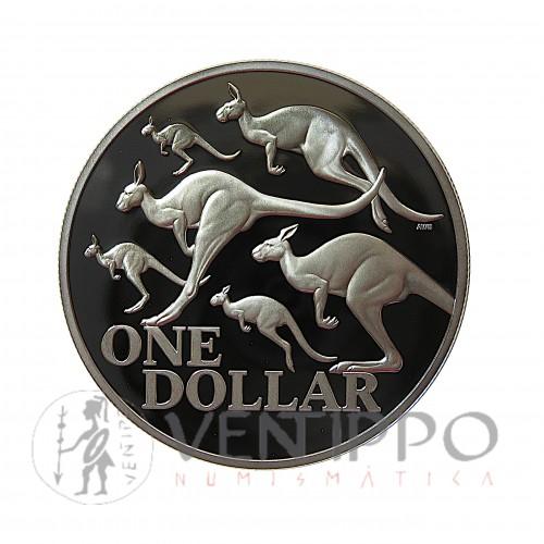 Australia, 1 $ Plata ( 1 OZ. 999mls.) Canguro RAM 2020 PROOF.