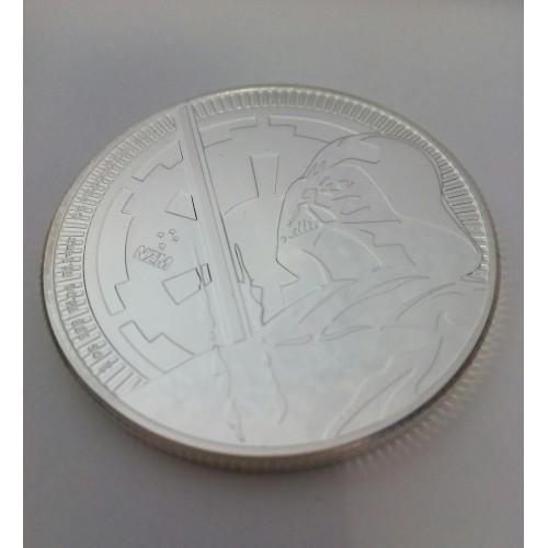 Nive, 2 $ plata ( 1 OZ.  999 mls. ) 2010, Darth Vader II, BU.