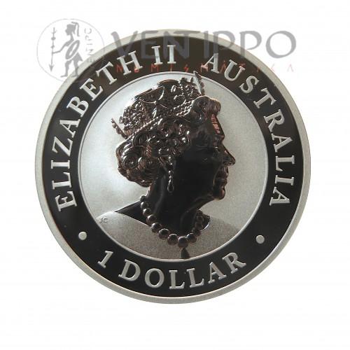 Australia, Dollar Plata ( 1 OZ. 999 mls. ) Australian Nugget 2019, BU.