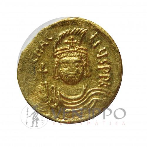 Imperio Bizantino, Sólido de oro, Heraclio, EBC-